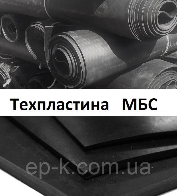 Техпластина МБС 2 мм