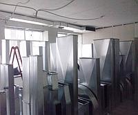 Воздуховоды прямоугольного сечения метал 0,5-0,7 мм цинк