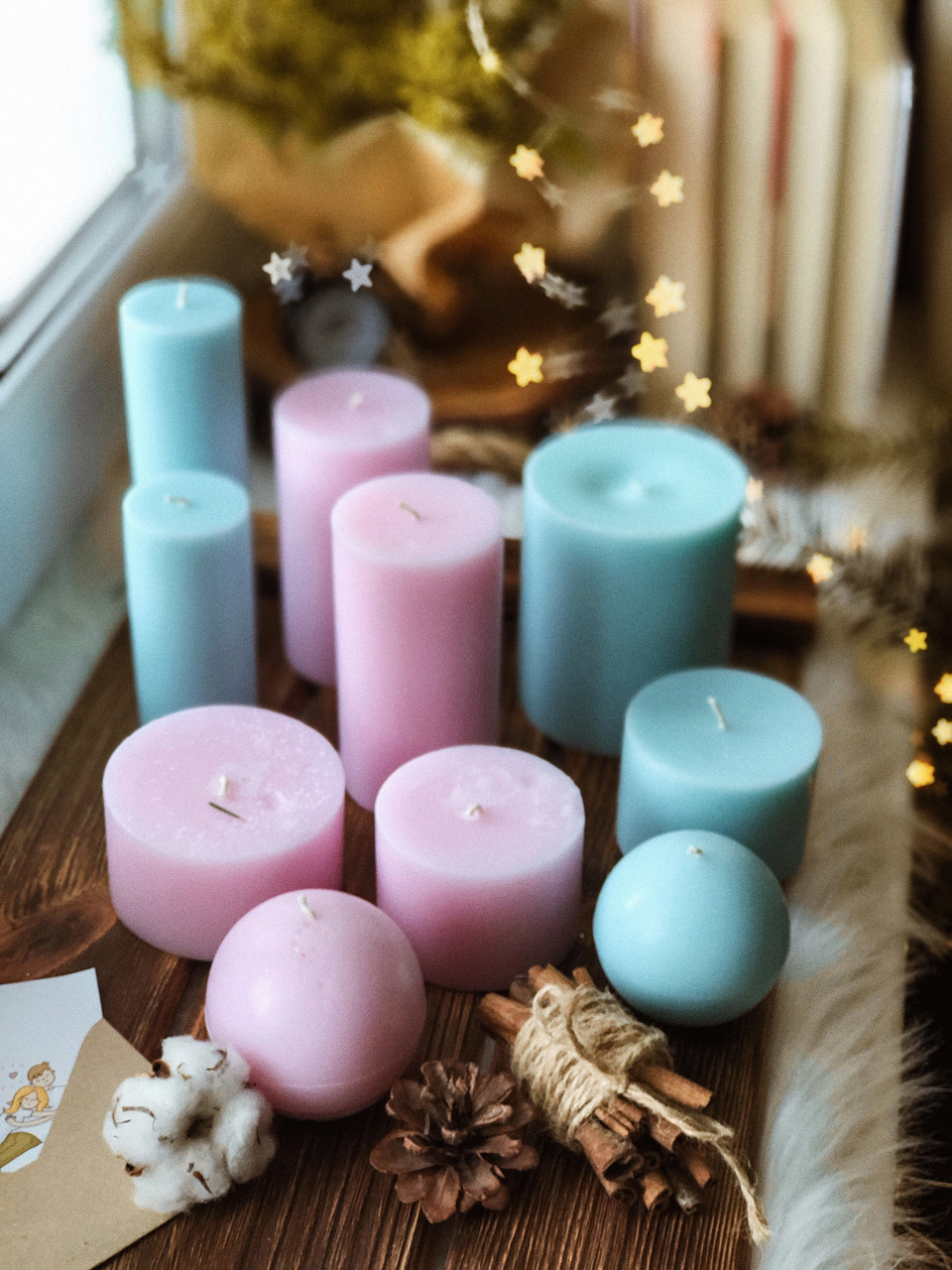 Ароматизований набір із 10 свічок