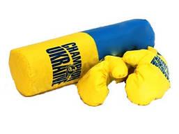 Детская боксерская груша с перчатками - Средняя