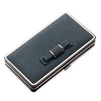 Жіночі гаманці для телефону. Стильний жіночий гаманець чохол для телефону. блакитний