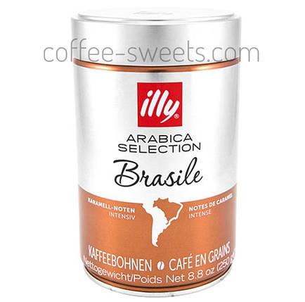 Кофе в зернах Illy Monoarabica Brasil 250 гр, фото 2