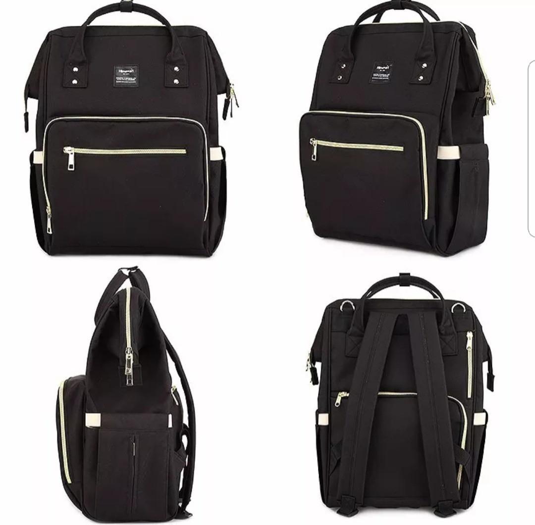 Многофункциональная сумка-рюкзак для мам LeQueen Черный