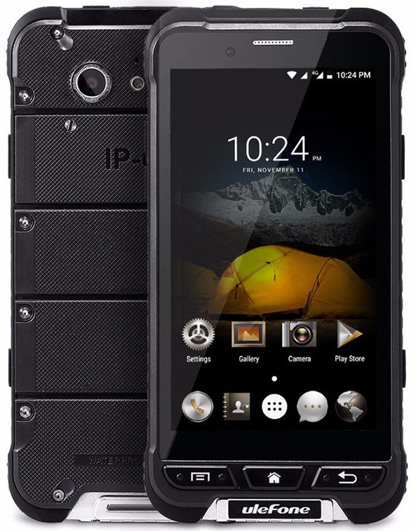 Ulefone Armor black IP68