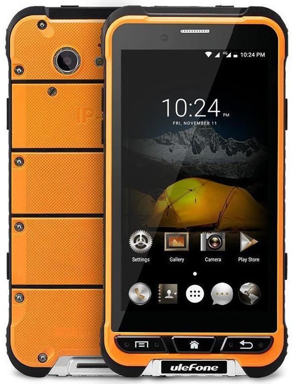 Ulefone Armor black-orange IP68