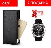 Мужское портмоне + часы в подарок!, фото 1