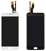Дисплей для Meizu M6 Note + touchscreen, черный Высокое качество