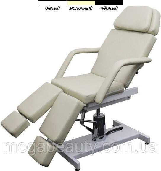 Педикюрное кресло-кушетка мод. 235 с гидравлической регулировкой высоты