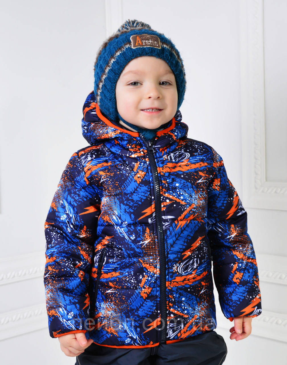 Курточка для хлопчика демісезонна зростання 98-104-110-116см