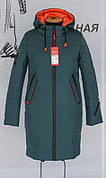 Пальто стильное женское демисезонное 46-58 р-р, фото 1