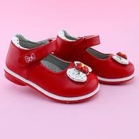 Красные туфли детские девочке бренд TOMM размер 20,21,22