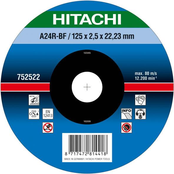 Диск отрезной для кирпича и бетона 115х3,0х22,2 Hitachi/hikoki 752531