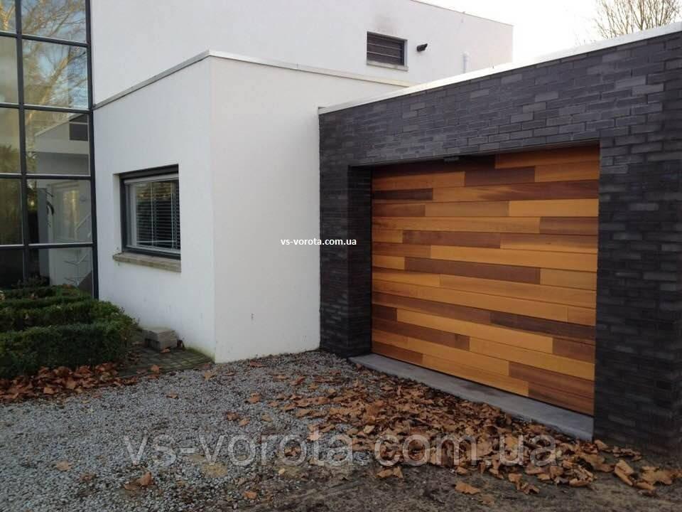 Ворота Doorhan RSD 02 размер 2800х2200 мм - гаражные секционные Чехия