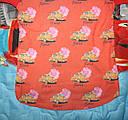 Кофта на девочку с шифоновой спинкой 116,128,140,152 см, фото 2