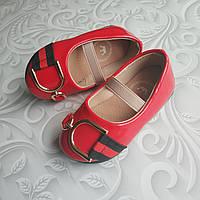 Лаковые туфли красные, стиль Dolce Gabbana, фото 1
