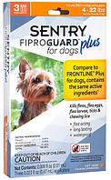 Капли для собак и щенков от блох и клещей Sentry FiproGuard Plus