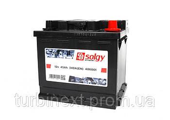 Аккумуляторная батарея SOLGY 406001 45Ah/340A (207x175x190/+R)