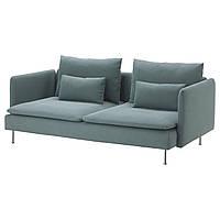 SÖDERHAMN Sofa 3-osobowa, Samsta ciemnoszary