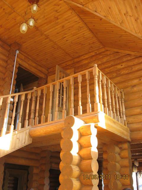 Деревянный дом (сруб) п.г.т Каролино Бугаз