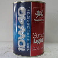 Моторное масло Wolver SUPER LIGHT 10W-40 1л