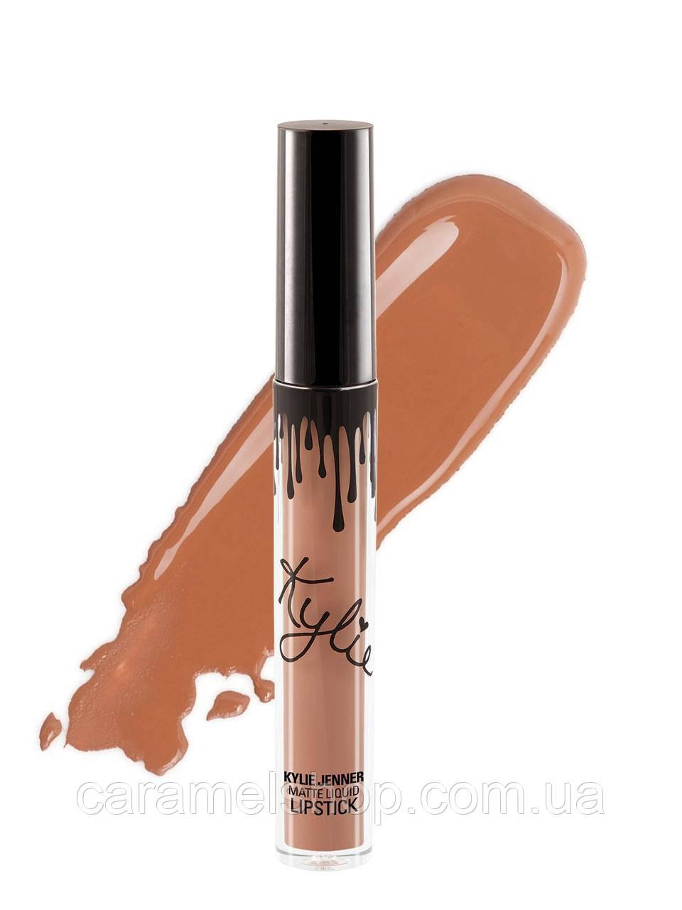 Жидкая матовая помада Kylie 8653 цвет Hazel   Matte Liquid Lipstick реплика