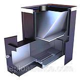Дровяная банная печь Новаслав Визуал ПКС-02 В С2, фото 2