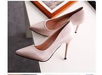 Классические туфли  каблук 9 см  5 цветов, фото 1