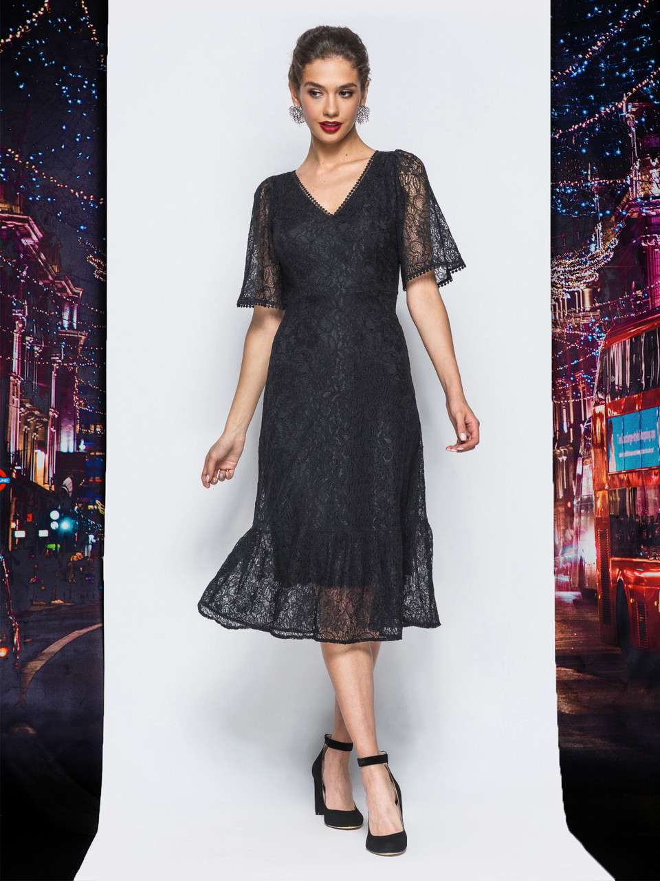 acb3a7415b0 🌙Двойное платье с кружевным верхом