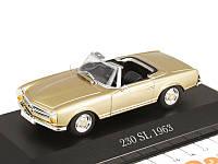 Модель Mercedes 230 SL, Pagoda, W 113, 1963-1967, Beige, Scale 1:43, артикул B66041049