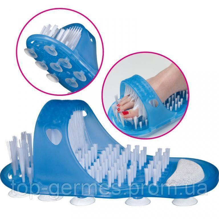 СПА система-массажные тапки для ванной комнаты с пемзой и массажем