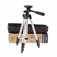 Универсальный мини-штатив WEIFENG WT-3110A для фотоаппарат, видеокамеры, экшен камеры или смартфона.