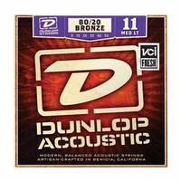 Струны для акустической гитары DUNLOP DAB1152 80/20 BRONZE MEDIUM LIGHT (11-52)