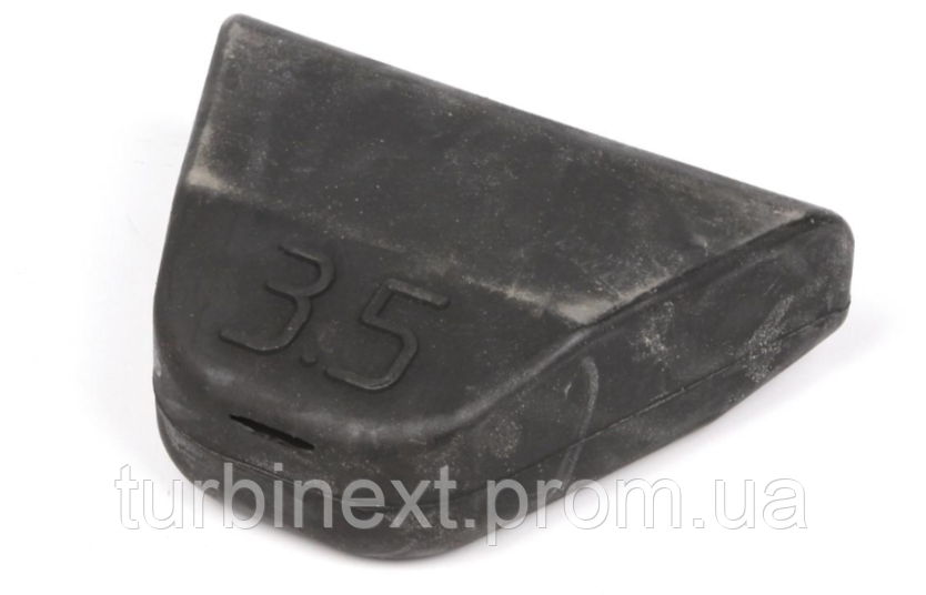 Подушка рессоры (треугольник) MB Sprinter/VW LT 96- (2-ох лист.) (3195) AUTOTECHTEILE 100 3195