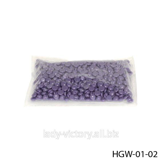 Гарячий віск в гранулах. Лаванда. HGW-01-02
