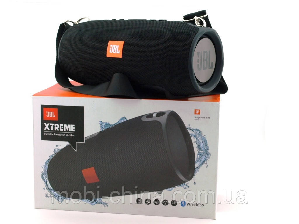 JBL XTREME SuperBass 40W A4 копия, Bluetooth колонка с  MP3, черная