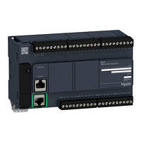 Контролер Modicon M221 24DI/16RO+2AI (0-10В) RS485 + Ethernet TM221CE40R
