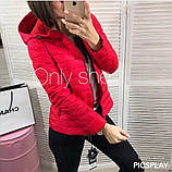 Женская куртка плащевка на синтепоне, много разных цветов!, фото 9