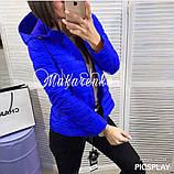 Женская куртка плащевка на синтепоне, много разных цветов!, фото 6