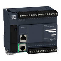 Контролер Modicon M221 14DI/10RO+2AI (0-10В) RS485 + Ethernet TM221CE24R