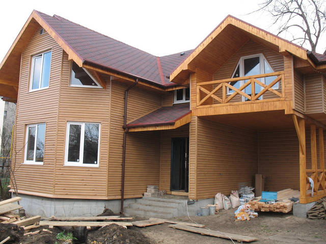 Каркасный дом г. Одесса ул. Каманина 3