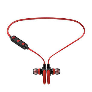 Беспроводные Bluetooth наушники Awei B925BL Red, фото 2