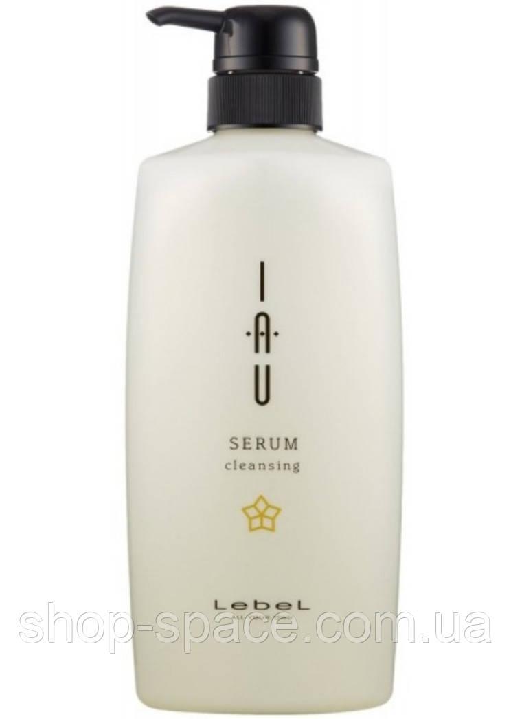 Зволожуючий шампунь LebeL IAU Serum Cleansing (600 мл)