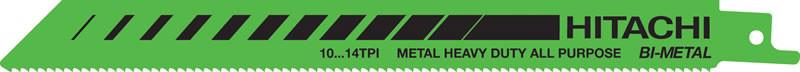 Набор пилок для сабельной пилы Hitachi / HiKOKI 752019