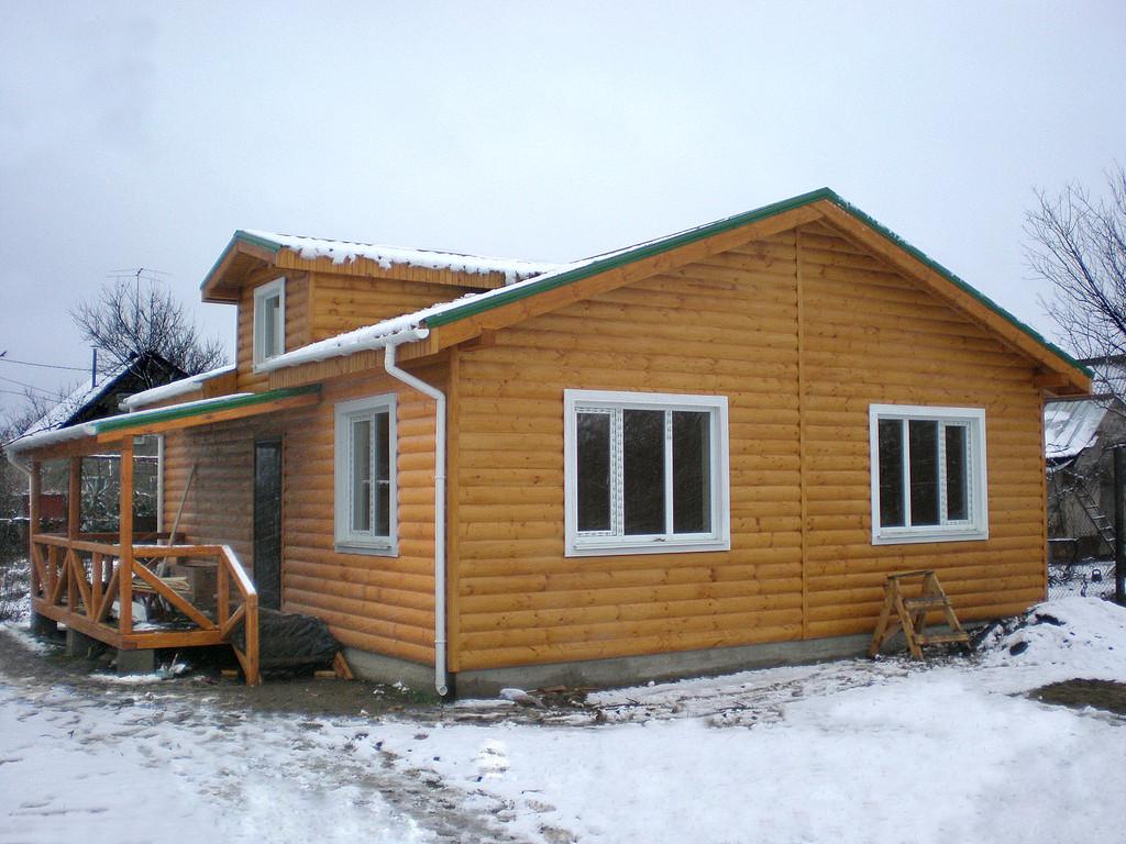 Каркасный дом с. Светлое