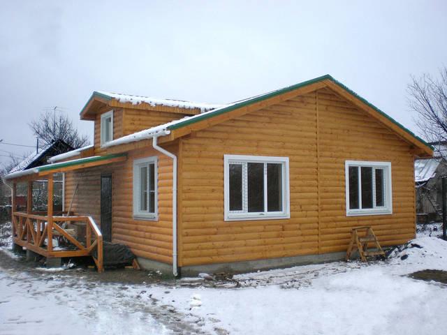 Каркасный дом с. Светлое 2