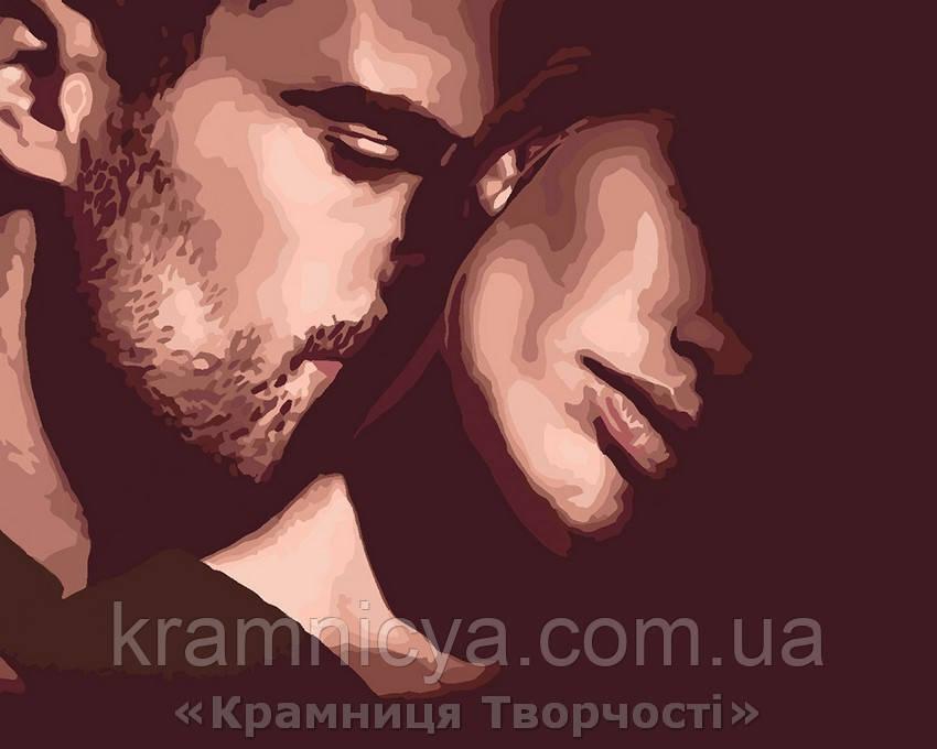Картина по номерам Прикосновение любви, 40x50 (КНО4556)