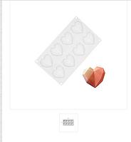 Форма силиконовая для муссовых тортов десертов  AMORINI аморини  на планшете
