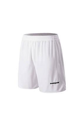 Футбольные шорты Europaw белые, фото 2