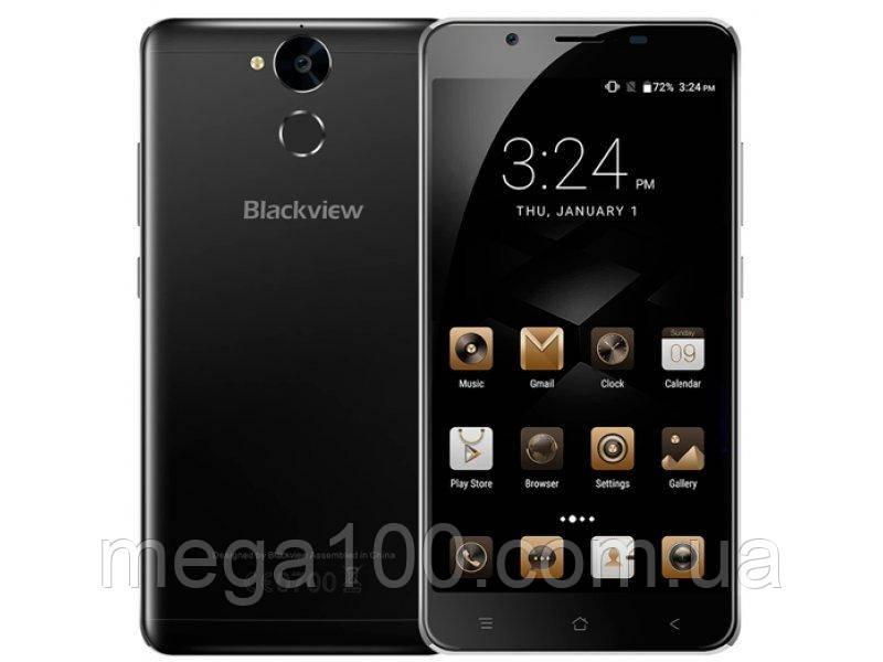Смартфон Blackview P2 lite черный цвет (экран 5,5; памяти 3/32Gb, батарея 6000 мАч)