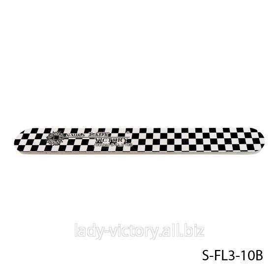 Прямая пилка для натуральных ногтей. S-FL3-10B